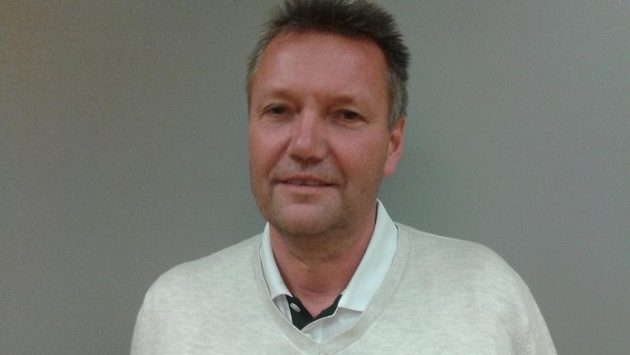 Volejbalový trenér Petr Brom.