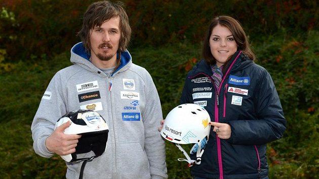 V Söldenu se představí dvojice Ondřej Bank a Kateřina Pauláthová.