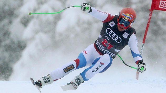 Švýcarský lyžař Patrick Küng.