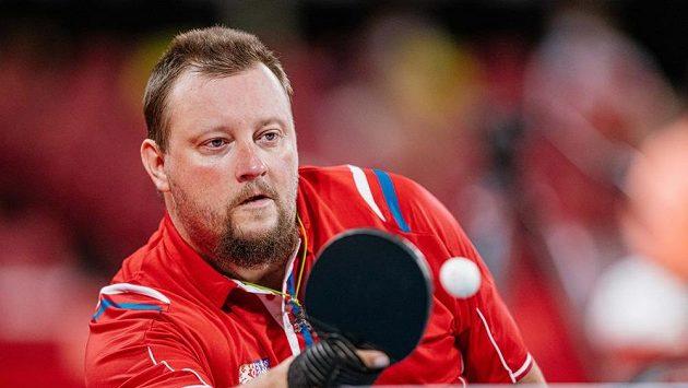 Stolní tenista Jiří Suchánek obsadil na paralympijských hrách v Tokiu pátou příčku.