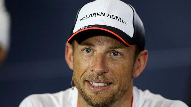 Mistr světa ve formuli 1 z roku 2009 Jenson Button.