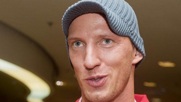 Překážkář Petr Svoboda na srazu českého týmu před halovým mistrovstvím Evropy v atletice.