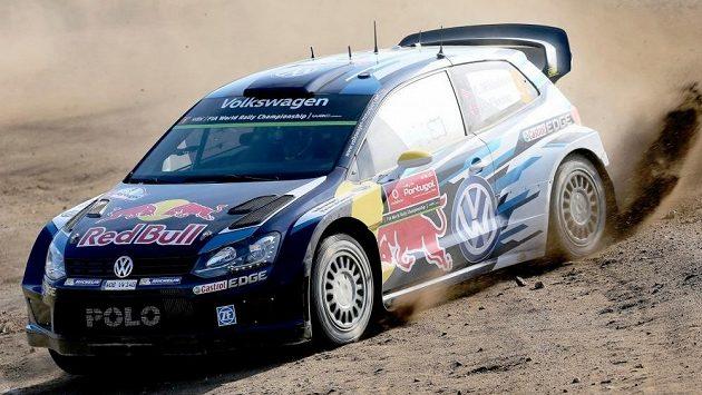 Andreas Mikkelsen při Portugalské rallye.
