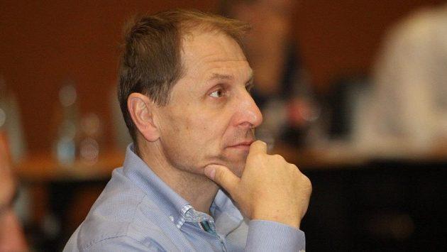 Člen výkonného výboru Českého svazu ledního hokeje Bedřich Ščerban.