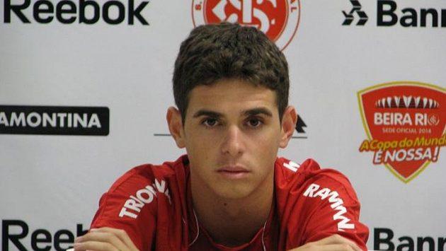 Vycházející brazilská hvězda Oscar. Chelsea má o něj velký zájem, ale bude muset sáhnout hluboko do kapsy.