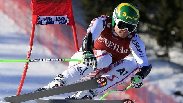 Rakouský lyžař Klaus Kröll.