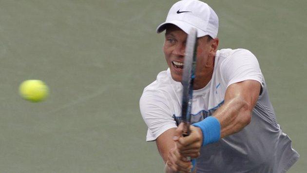 Český tenista Tomáš Berdych v Cincinnati skončil.