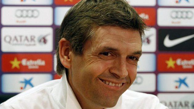 Bývalý kouč Barcelony Tito Vilanova.