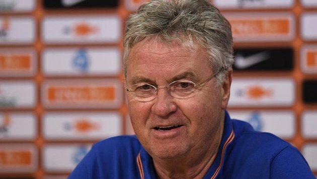 Trenér Nizozemska Guus Hiddink