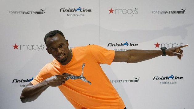 Jamajského sprintera Usaina Bolta čeká na mítinku Diamantové ligy v New Yorku závod na 200 metrů.