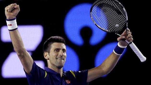 Novak Djokovič jásá, po souboji s Rogerem Federerem je zase ve finále Australian Open.