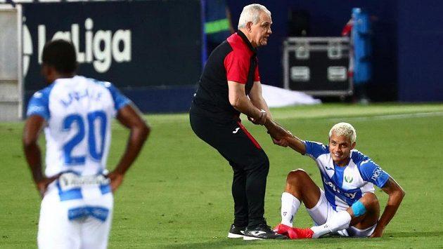 Javier Aguirre uprostřed v sestupujícím týmu Leganés skončil.