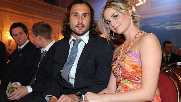 Petr Jiráček s manželkou Lindou.