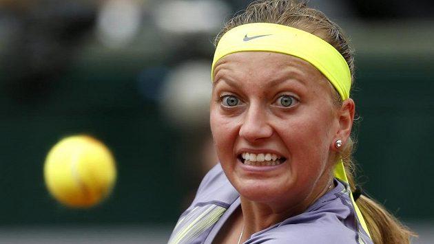 Česká jednička Petra Kvitová porazila v prvním kole French Open domácí Aravanu Rezaiovou.