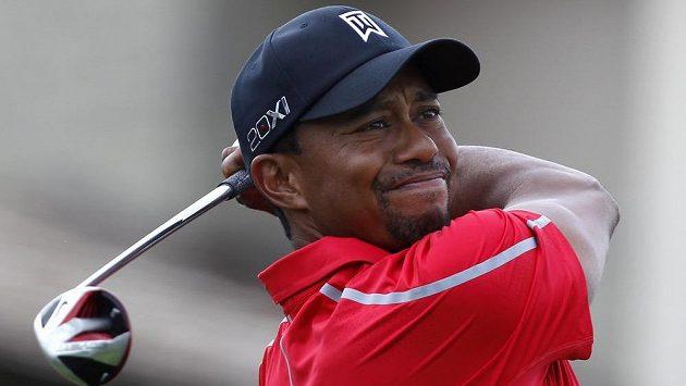 Slavný americký golfista Tiger Woods
