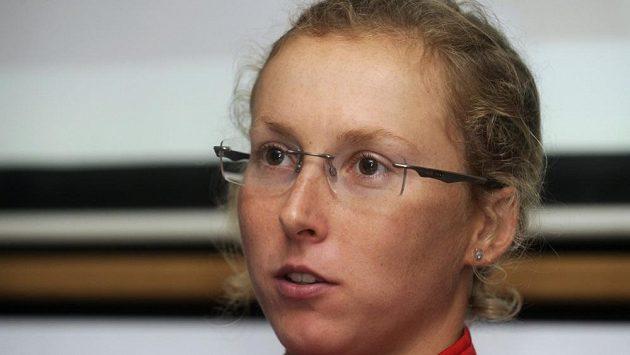 Triatlonistka Vendula Frintová.
