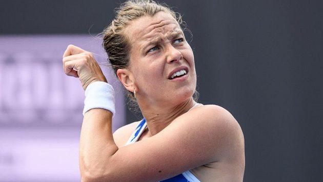 Barbora Strýcová zasáhne v neděli v Paříži do grandslamového French Open.