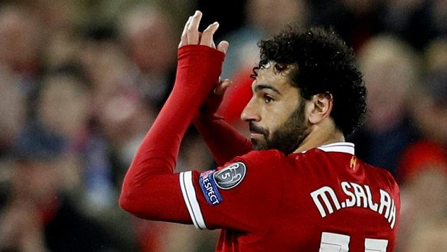 Kanonýr Liverpoolu Mohamed Salah