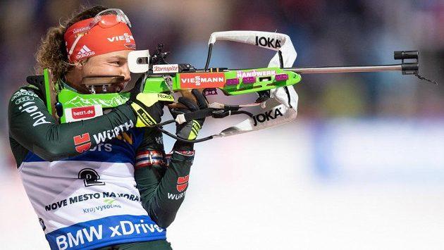 Německá biatlonistka Laura Dahlmeierová bude v úvodu světového šampionátu chybět