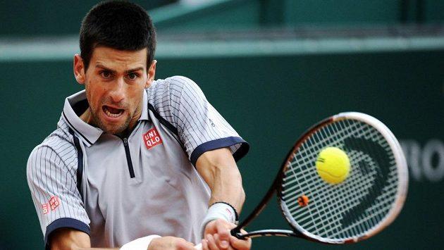 Srb Novak Djokovič v semifinále turnaje v Monte Carlu.