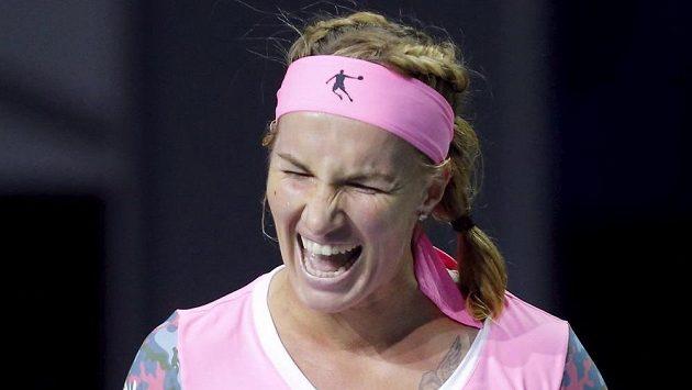 Ruská tenistka Světlana Kuzněcovová zvítězila na letošním Kremlin Cupu. Teď vyrazí do Prahy.