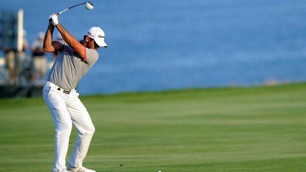 Australský golfista Jason Day při třetím majoru sezóny v americkém Kohleru.