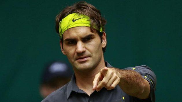 Roger Federer chce sedmý titul ve Wimbledonu