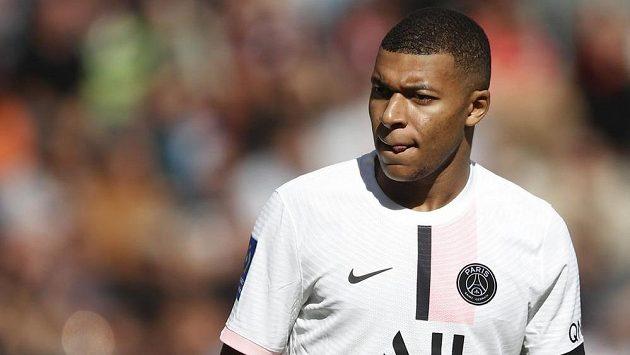Hvězdný fotbalový útočník Kylian Mbappé