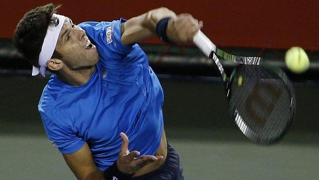 Český tenista Jiří Veselý