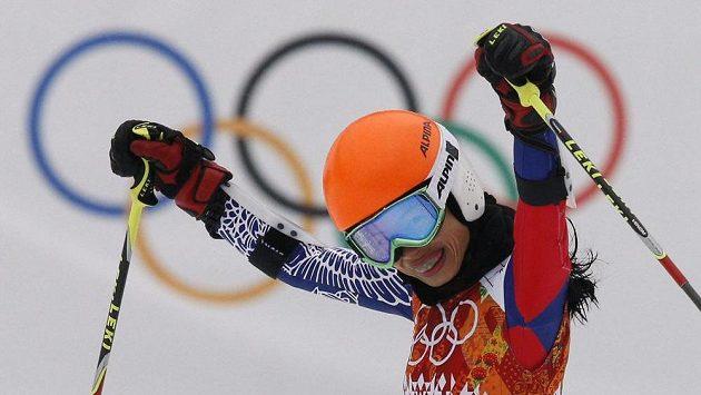 Vanessa Mae na olympiádě.