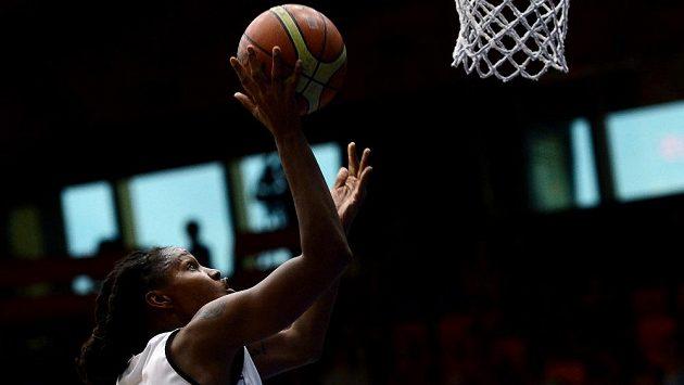 Basketbalistka Rebekkah Brunsonová z USK Praha.