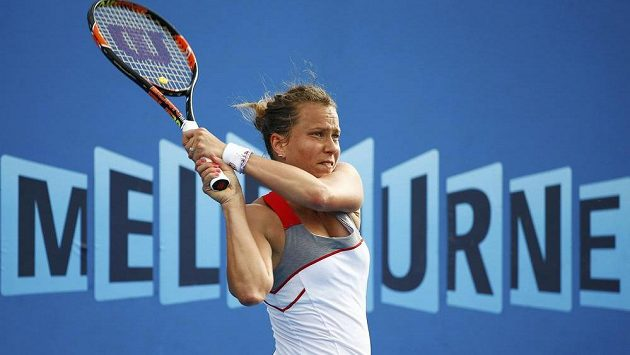 Barbora Záhlavová-Strýcová na Australian Open