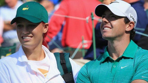 Golfista Rory McIlroy a tenistka Caroline Wozniacká už netvoří pár.