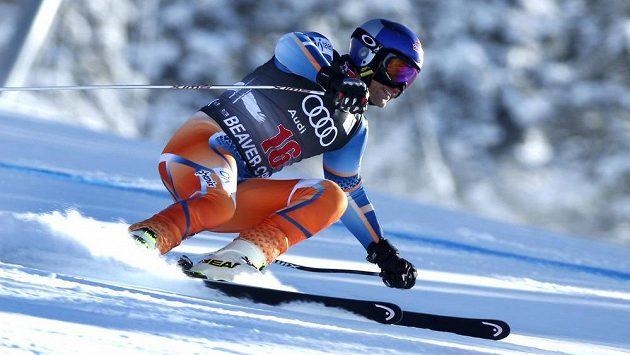 Norský lyžař Aksel Lund Svindal v Beaver Creeku.