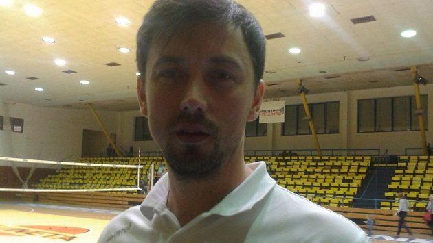 Prezident volejbalového klubu Karlovarska a bývalý reprezentant Jakub Novotný.