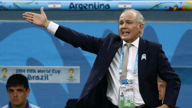 Trenér Alejandro Sabella na lavičce Argentiny po MS skončí.