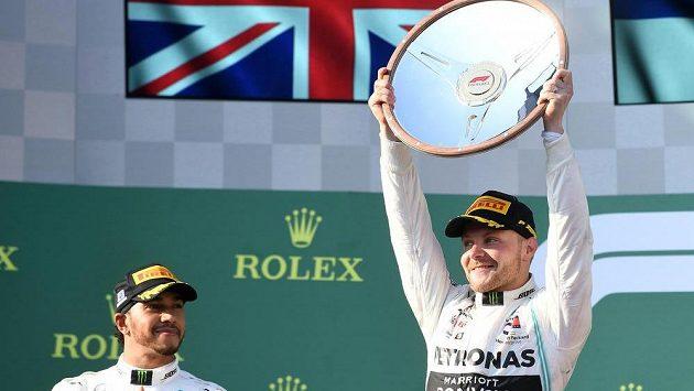 Vítěz Velké ceny Austrálie Valtteri Bottas.