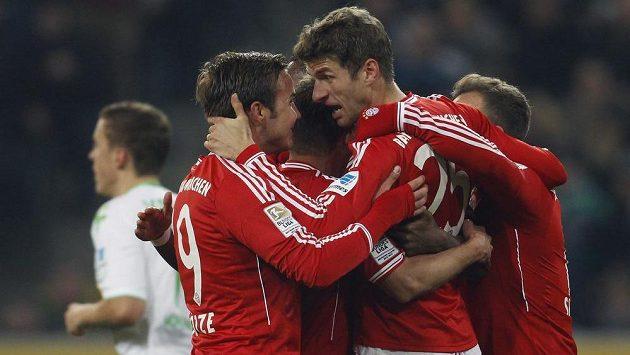 Radost Bayernu Mnichov.