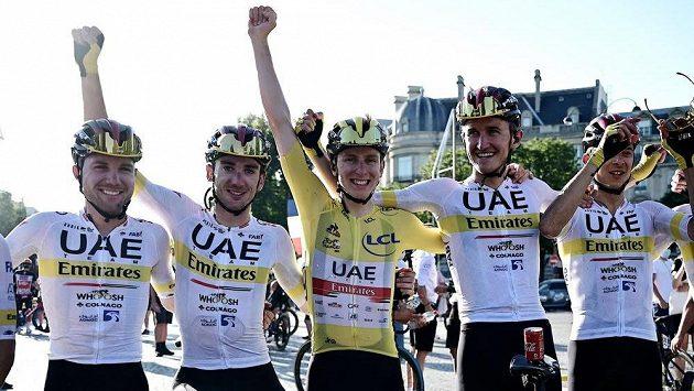 Tour de France - Vítězství Tadeje Pogačara