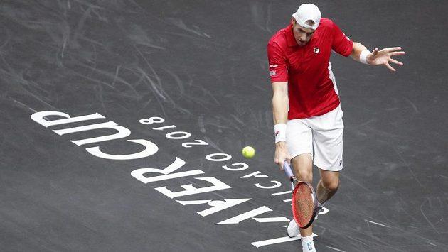 Německý tenista Alexander Zverev porazil Američana Jacka Socka 3:6, 7:6 a 10:7.