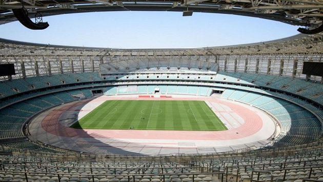 Olympijský stadion v Baku bude hostit finálový zápas Evropské ligy mezi Arsenalem a Chelsea.