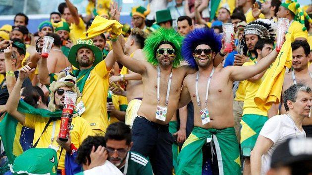 Fanoušci Brazílie na svůj národní tým ani po neúspěchu na mistrovství světa nezanevřeli