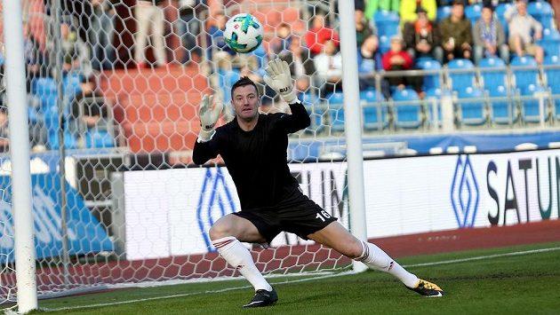 Brankář Baníku Ostrava Jan Laštůvka prodloužil svou šňůru neprůstřelnosti na 310 minut.