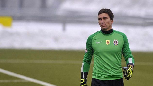 Fotbalový brankář Marek Čech