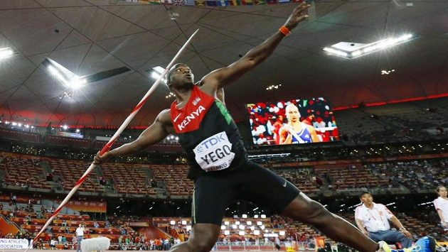 Keňský oštěpař Julius Yego