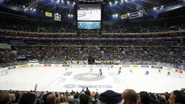Zaplněná O2 arena - ilustrační foto.