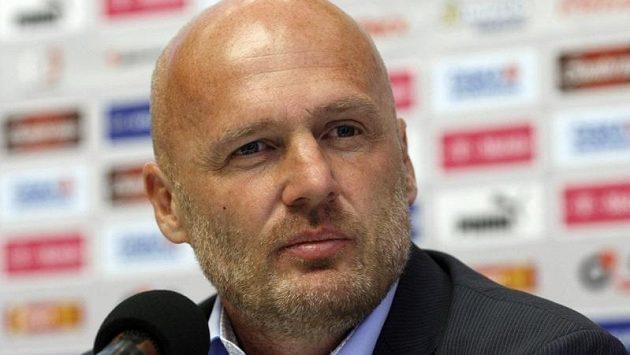 Trenér reprezentace Michal Bílek.