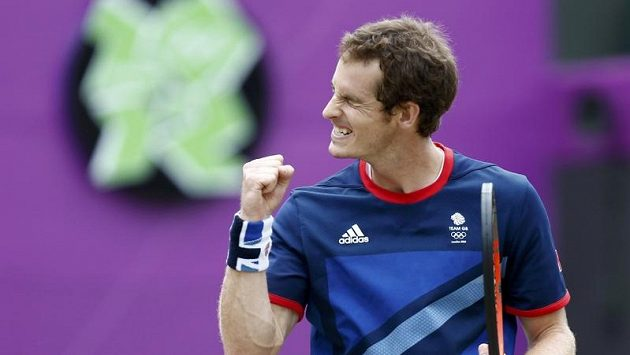 Britský tenista Andy Murray