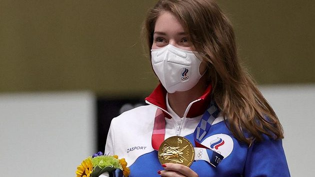 Ruska Vitalina Bacaraškinová vyhrála v Tokiu disciplínu vzduchová pistole.