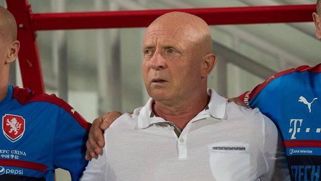 Trenér české reprezentace Karel Jarolím